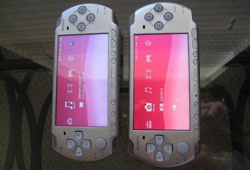 Sony PSP-3000 против PSP-2000 - обзор и сравнение