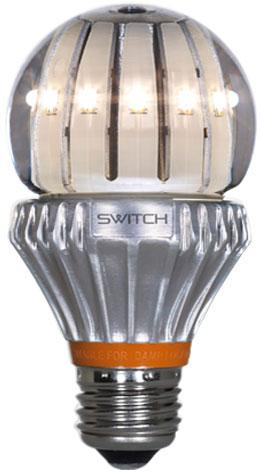 LED-лампа с жидкостным охлаждением