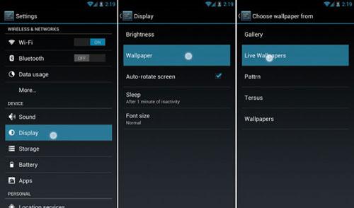 Живые обои для Android смартфона и планшета - скачать бесплатно - как установить