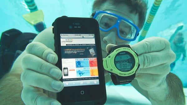 Подводный кейс для смартфона iPhone 5 - обзор - мобильные аксессуары для фитнеса