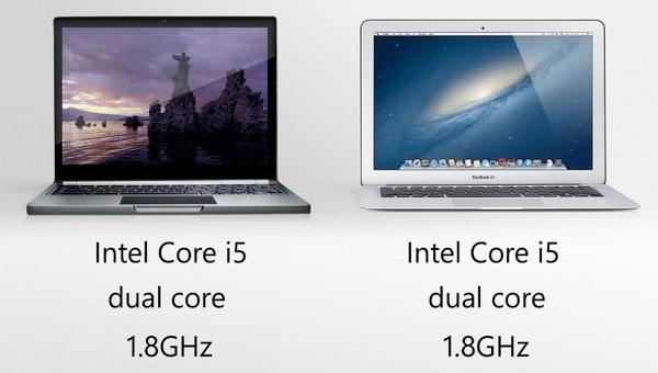 Macbook Air против Google Chromebook Pixel - сравнительный обзор - какой лучше