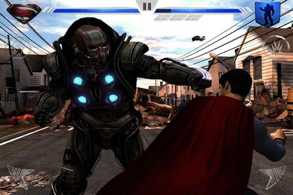 Игра по фильму человек из стали - скачать на Андроид планшет или смартфон - как выиграть