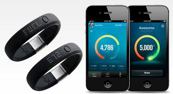 Браслет Nike+ FuelBand для iPhone 5 - обзор - мобильные аксессуары для фитнеса