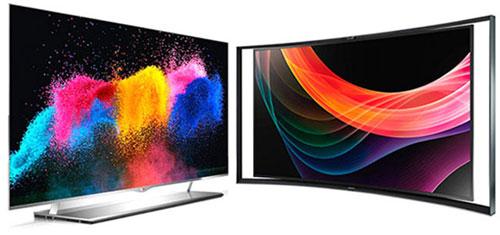 OLED-телевизоры LG 55EM9700 и Samsung KN55S9C - какой лучше?