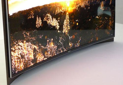 OLED-телевизор с вогнутым экраном от Samsung - обзор - где купить