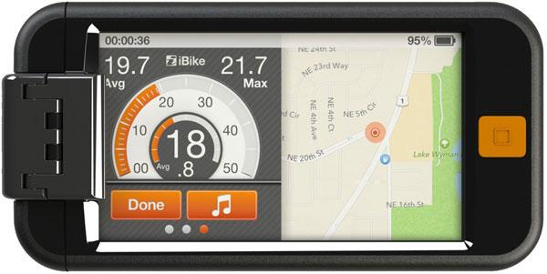 iBike Powerhouse для iPhone 5. Цена. Обзор - скачать приложение - мобильные аксессуары для фитнеса