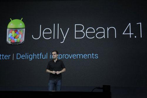 Новый Android Jelly Bean вышел в свет