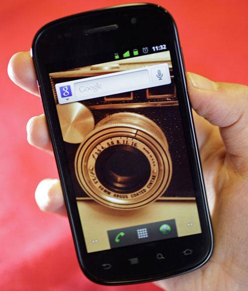 История Android - смартфон Nexus S - обзор