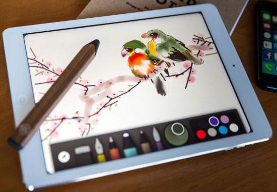 лучший стилус и сенсорная кисть для рисования на планшете iPad