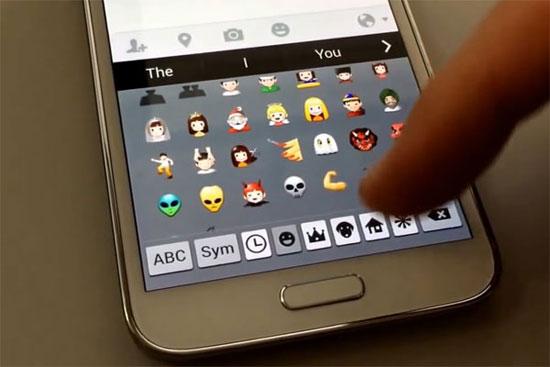 Скачать как на андроид прикольные смайлики для клавиатуры