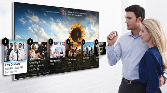 Новые смарт телевизоры Samsung 2014