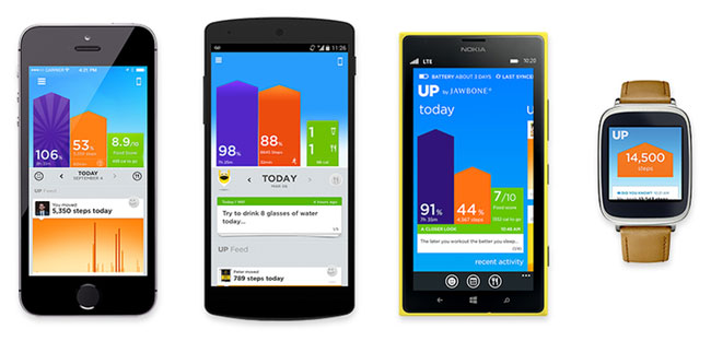 Где скачать приложение Jawbone UP для Windows Phone - Nokia - прошивка UP24